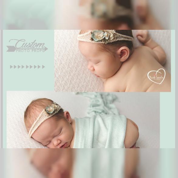 Flokati Rug For Newborn Photography
